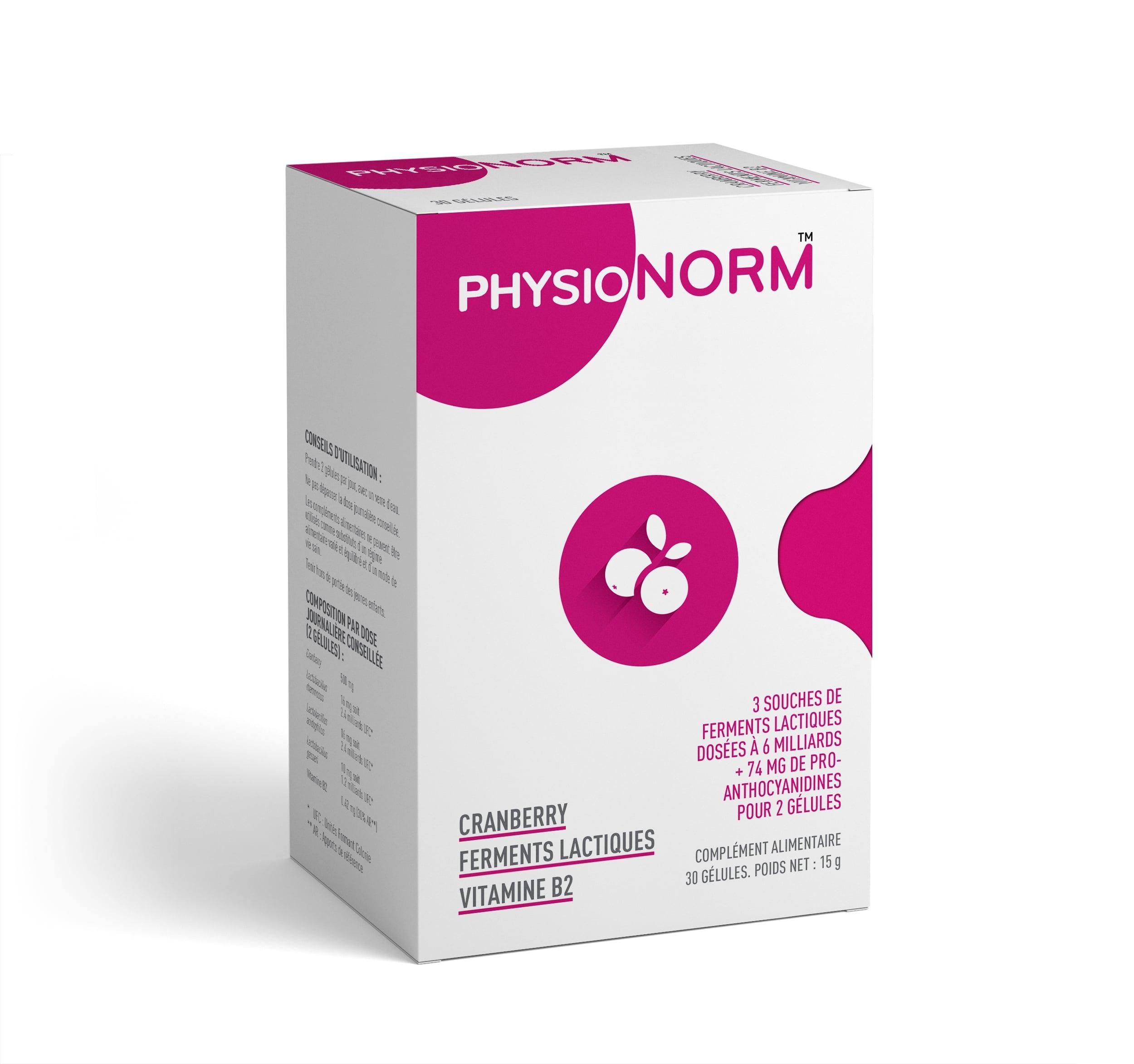 Laboratoire-Immubio-complement-alimentaire-PhysioNorm-CRANBERRY