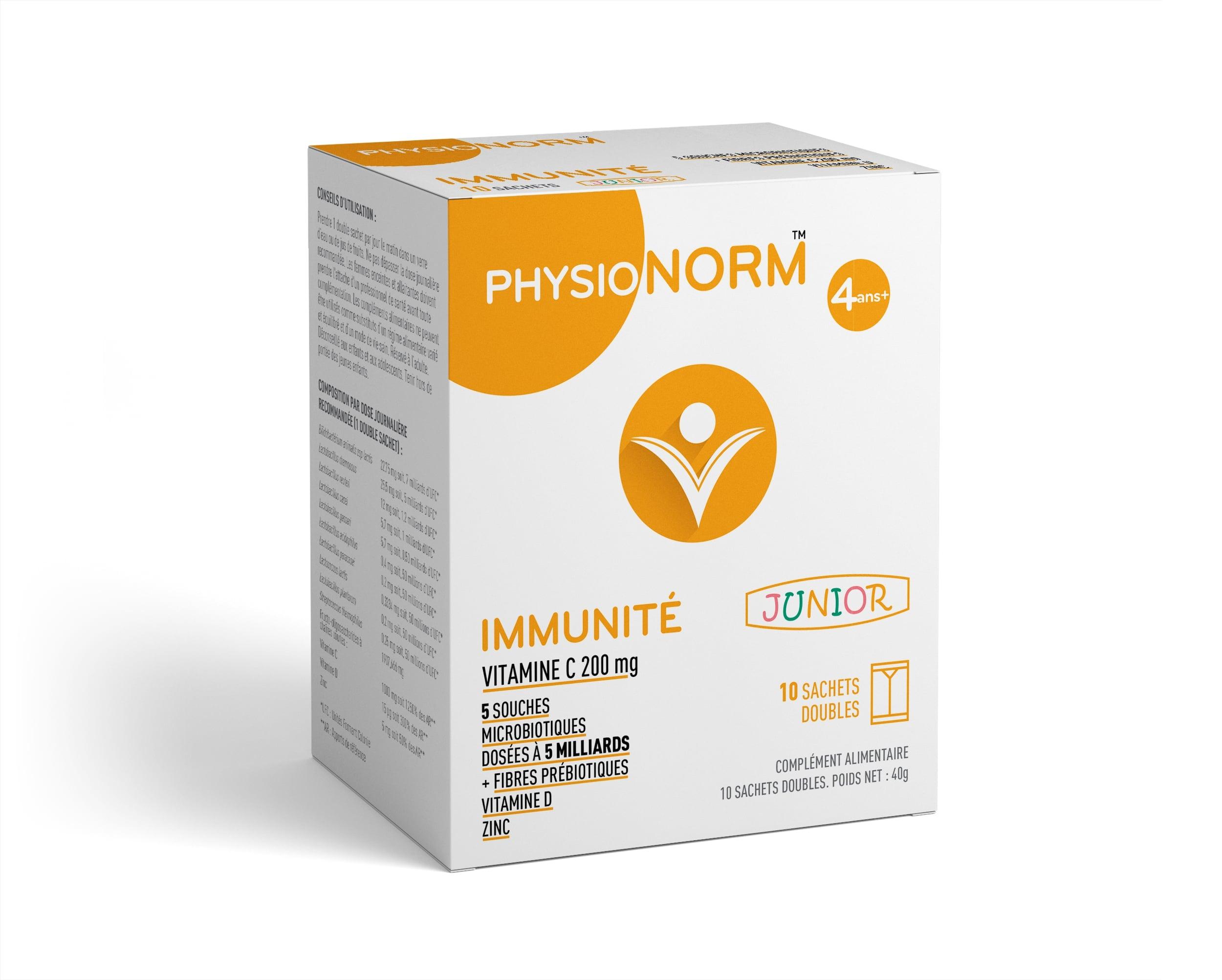 Laboratoire-Immubio-complement-alimentaire-PhysioNorm-IMMUNITE-Junior